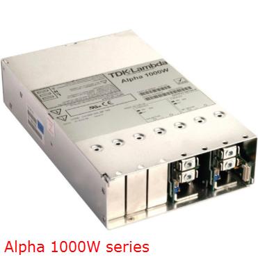 TDK Lambda bộ nguồn AC Alpha 1000 - Đại lý chính thức TDK Lambda tại Việt Nam