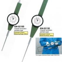 Đại lý Teclock vietnam, Đồng hồ so kim dài KM-05150, KM05100 Teclock, nhà phân phối teclock