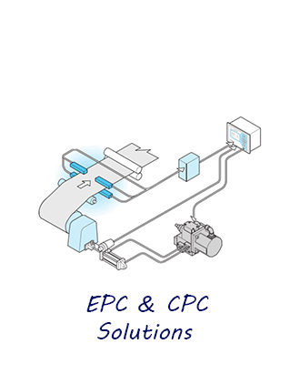 Hệ thống EPC (Edge Position Control) & CPC (Center Position Control)
